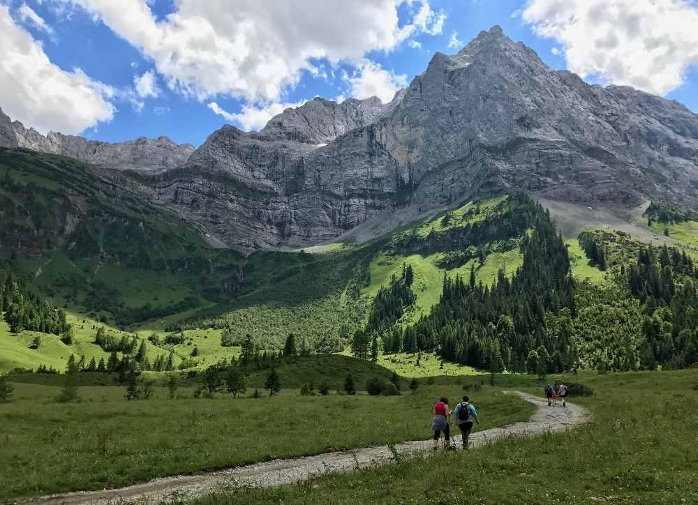 Der Große Ahornboden - hier kannst du im Karwendel wandern