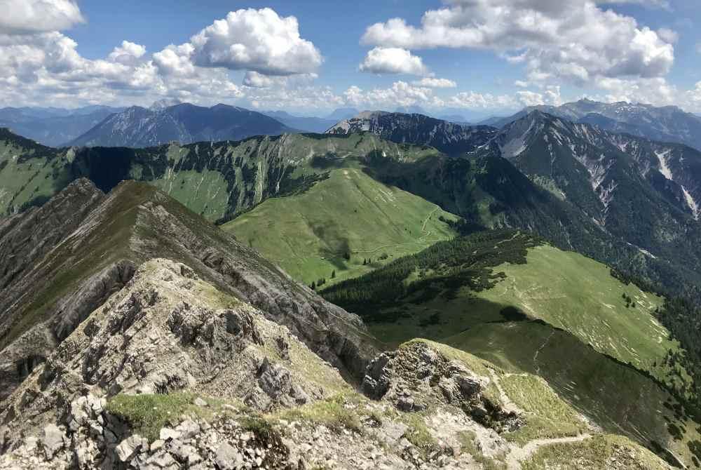 Viele schöne Berge und eine tolle Natur - das ist Karwendel wandern