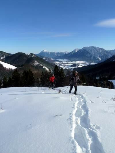 Schneeschuhwanderung im Chiemgau