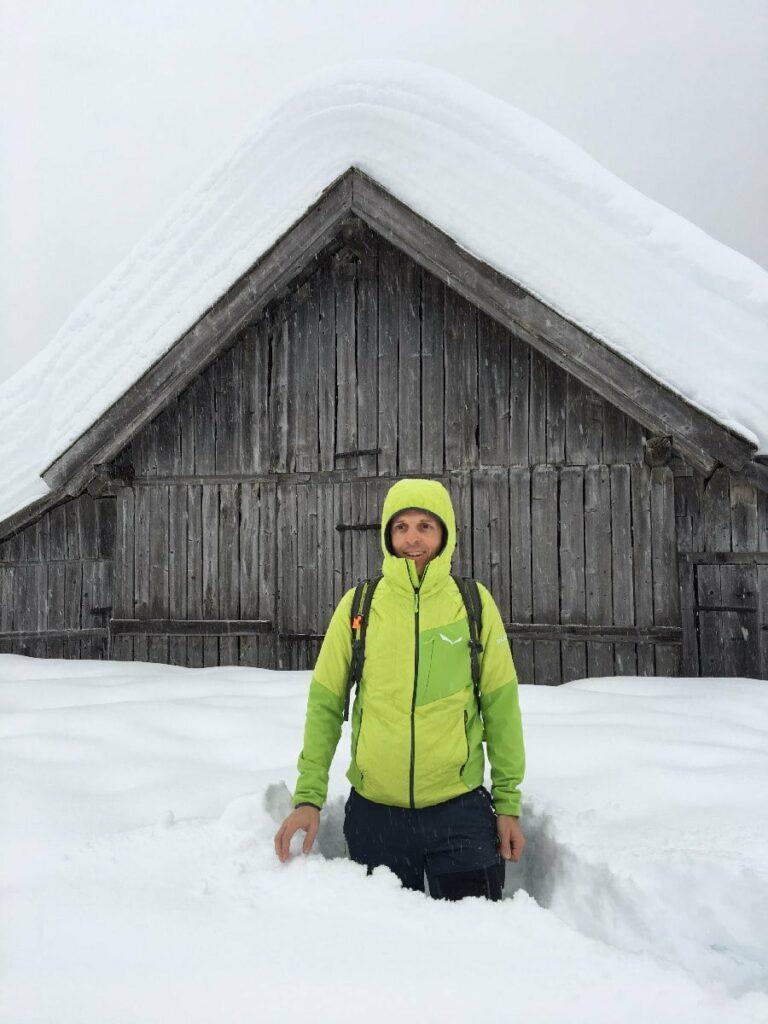 Mehrtägige Winterwanderung im Schnee: Die Schneewanderung in der Leutasch
