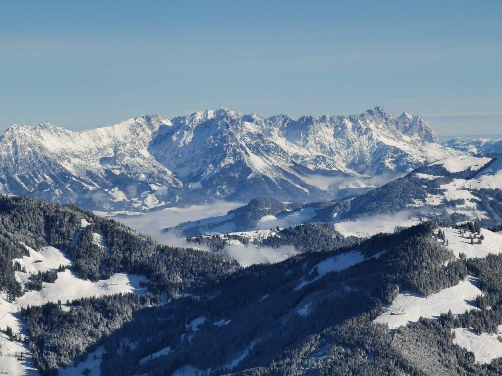 Lust in dieser tollen Landschaft winterwandern zu gehen?
