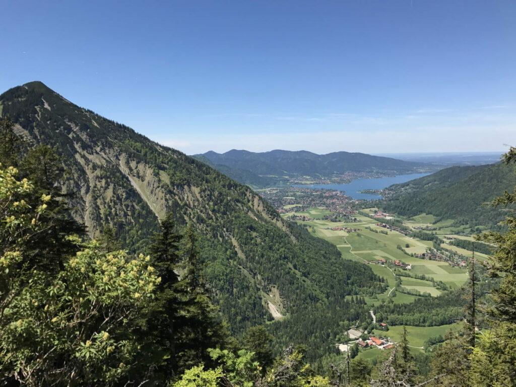 Am Tegernsee in Deutschland wandern