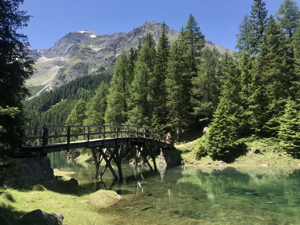 Leicht und aussichtsreich in Österreich wandern - zum Obernberger See in Tirol