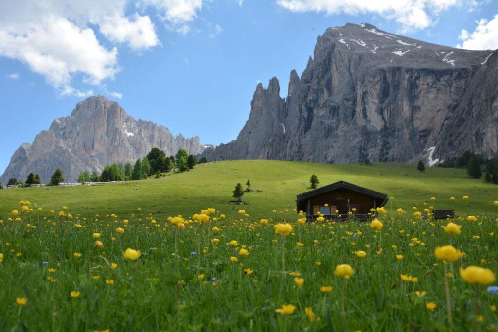 Schön in Südtirol wandern - am Fuße der Dolomiten