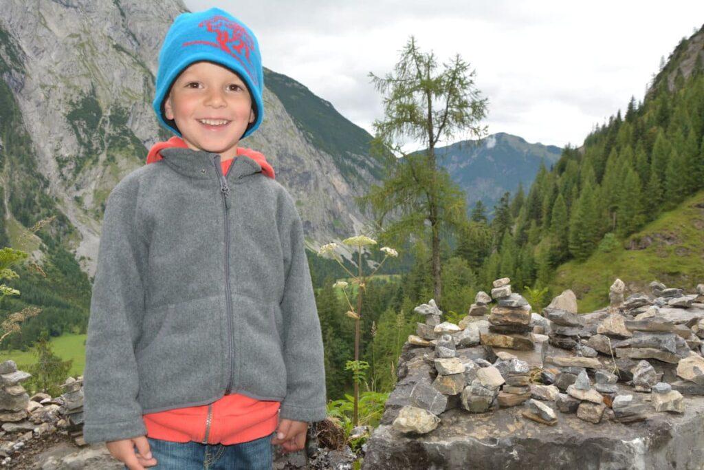 Wandern mit Kleinkind - so macht es Kindern Spaß