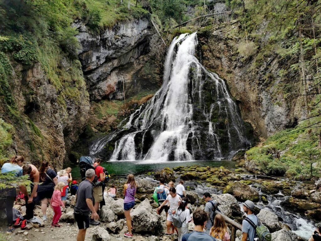 Traumhaft in Österreich wandern: Zum Gollinger Wasserfall nahe Salzburg