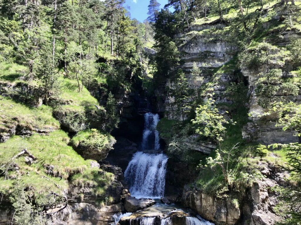Geheimtipp Wandern Bayern - Die Kuhflucht Wasserfälle Farchant