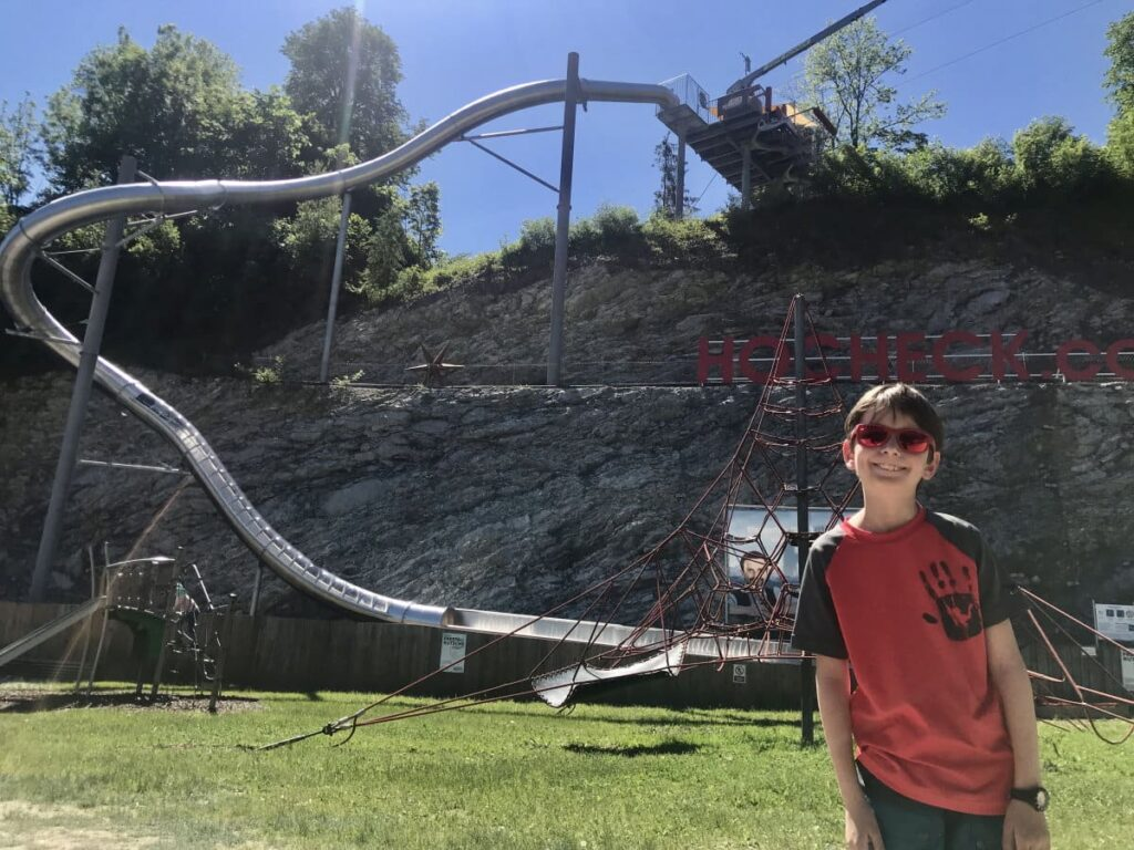 Geheimtipp wandern Bayern mit Kindern - abwechslungsreich am Hocheck!