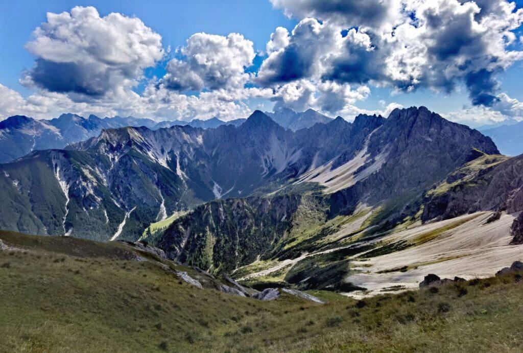 Imposant in Österreich wandern - das Karwendel hat viele tolle Wanderwege