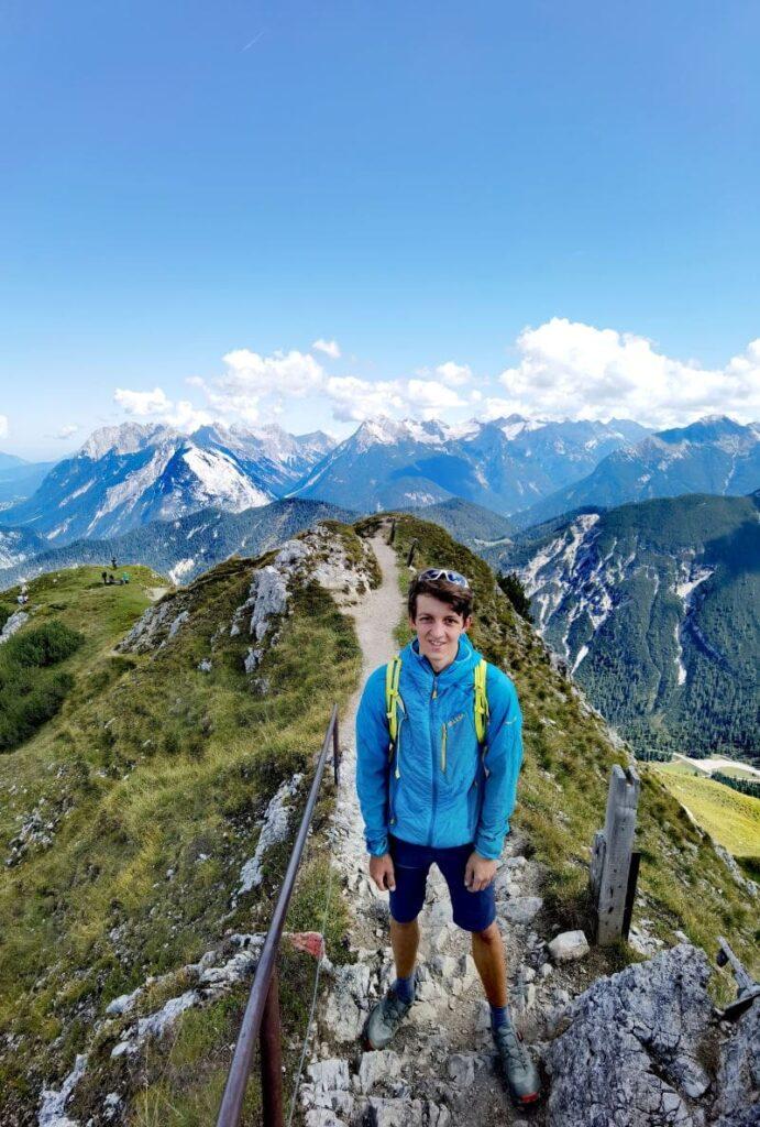 Perfekt in Österreich wandern - auf der Rosshütte in Seefeld